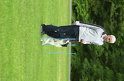 Eddie Sander with his Dogs Jackson and Inka<br /><br />18 June 2004<br /><br />Copyright Paul David Drabble<br /> [#Beginning of Shooting Data Section]<br />Nikon D1 <br /> Focal Length: 160mm<br /> Optimize Image: <br /> Color Mode: <br /> Noise Reduction: <br /> 2004/06/18 09:13:48.2<br /> Exposure Mode: Programmed Auto<br /> White Balance: Auto<br /> Tone Comp: Normal<br /> JPEG (8-bit) Fine<br /> Metering Mode: Multi-Pattern<br /> AF Mode: AF-S<br /> Hue Adjustment: <br /> Image Size:  2000 x 1312<br /> 1/160 sec - F/6<br /> Flash Sync Mode: Not Attached<br /> Saturation: <br /> Color<br /> Exposure Comp.: 0 EV<br /> Sharpening: Normal<br /> Lens: 80-200mm F/2.8<br /> Sensitivity: ISO 200<br /> Image Comment: <br /> [#End of Shooting Data Section]