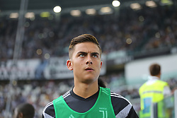 August 25, 2018 - Turin, Piedmont, Italy - Paulo Dybala (Juventus FC)  before the Serie A football match between Juventus FC and SS Lazio at Allianz Stadiumon august 25, 2018 in Turin, Italy. (Credit Image: © Massimiliano Ferraro/NurPhoto via ZUMA Press)