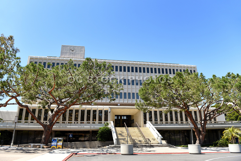 University of California Irvine Aldrich Hall Entrance