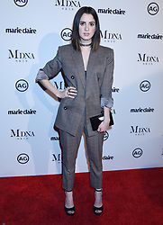 """Sydelle Noel at 2018 Marie Claire """"Image Makers Awards"""" held at the Delilah LA on January 11, 2018 in West Hollywood, CA. Janet Gough/AFF-USA.com. 11 Jan 2018 Pictured: Laura Marano. Photo credit: MEGA TheMegaAgency.com +1 888 505 6342"""