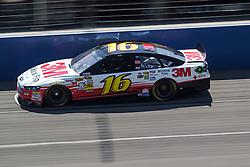 Fontana, CA/USA (Saturday, March 23, 2013) -  NASCAR Sprint Cup Series Driver Greg Biffle drives car #16 during practice at the Auto Club Speedway in Fontana, CA   PHOTO © Eduardo E. Silva/SILVEX.PHOTOSHELTER.COM.