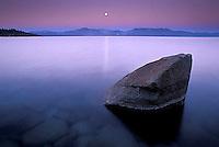 Twilight over Lake Tahoe, CA<br />