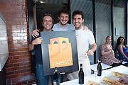 GIORGIO LOCATELLI; MAX SALI; FEDERICO SALI; , Pimlico Road party. 22 June 2010. -DO NOT ARCHIVE-© Copyright Photograph by Dafydd Jones. 248 Clapham Rd. London SW9 0PZ. Tel 0207 820 0771. www.dafjones.com.