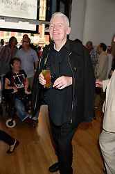 MIKE McCARTNEY brother of Paul McCartney at a private view of the late Ian Dury's artwork entitled Ian Dury: More Than Fair – Paintings, drawings and artworks, 1961–1972 held at the Royal College of Art, Kensington Gore, London SW7 on 22nd July 2013.
