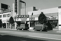 1972 Vogue Theater on Hollywood Blvd.