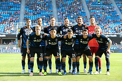 October 21, 2018 - San Jose, California, United States - San Jose, CA - Sunday October 21, 2018: San Jose Earthquakes Starting Eleven prior to a Major League Soccer (MLS) match between the San Jose Earthquakes and the Colorado Rapids at Avaya Stadium. (Credit Image: © Casey Valentine/ISIPhotos via ZUMA Wire)