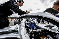 September 1, 2019, Spa-Francorchamps, Belgium: Motorsports: FIA Formula One World Championship 2019, Grand Prix of Belgium, ..#77 Valtteri Bottas (FIN, Mercedes AMG Petronas Motorsport) (Credit Image: © Hoch Zwei via ZUMA Wire)