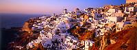 Village of Oia, Santorini, The Cyclades, Greece