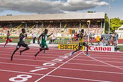 mens 200 meters semifinal, Michael O'Hara, Jamaica