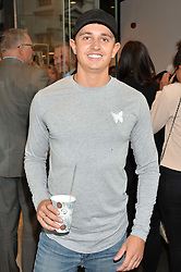 GEORGE LINEKER at the launch for the collaboration of Joel Swimwear for Collier Bristow held at Collier Bristow, 61 King's Road, Chelsea, London on 11th August 2016.
