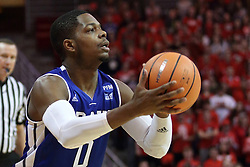 21 February 2018:  C.J. Rivers during a College mens basketball game between the Drake Bulldogs and Illinois State Redbirds in Redbird Arena, Normal IL
