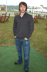 Singer JAMES BLUNT at the 2005 Cartier International Polo between England & Australia held at Guards Polo Club, Smith's Lawn, Windsor Great Park, Berkshire on 24th July 2005.<br /><br />NON EXCLUSIVE - WORLD RIGHTS