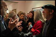 VISCOUNT COWDRAY; JOHN HURT, Mim Scala, In Motion, private view. Eleven. Eccleston st. London. 9 October 2014.