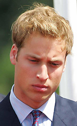 Prince William at the opening, of a fountain built in memory of his mother, the late Diana, Princess of Wales, in London's Hyde Park. The  3.6 million creation at the side of the Serpentine has been surrounded by controversy - facing delays and over-running its budget by  600,000. The Princess died in a car crash in Paris in August 1997.