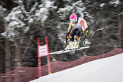 21.02.2013, Kandahar, Garmisch Partenkirchen, AUT, FIS Weltcup Ski Alpin, Abfahrt, Herren, 1. Training, im Bild Benjamin Thomsen (CAN) // Benjamin Thomsen of Canada in action during 1st practice of the  mens Downhill of the FIS Ski Alpine World Cup at the Kandahar course, Garmisch Partenkirchen, Germany on 2013/02/21. EXPA Pictures © 2013, PhotoCredit: EXPA/ Johann Groder