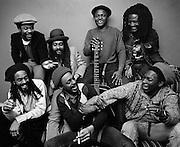 Sugar Minott with the Africa Brothers