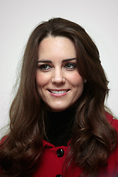 Kate Middleton during a visit to the University of St Andrews, where her and Prince William first met.