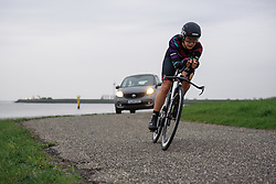Elena Cecchini (CANYON//SRAM Racing) at Omloop van Borsele Time Trial 2016. A 19.9 km individual time trial starting and finishing in 's-Heerenhoek, Netherlands on 22nd April 2016.