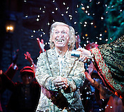 Scrooge<br /> by Charles Dickens <br /> at The London Palladium, Lonodn, Great Britain <br /> Press photocall<br /> 31st October 2012 <br /> <br /> Tommy Steele as Ebenezer Scrooge<br /> <br /> James Head as Ghost of Christmas Present <br /> <br /> Craig Whitely as Harry and Edward Handoll as Bob Cratchit <br /> <br /> Barry Howard as Jacob Marley <br /> <br /> <br /> Photograph by Elliott Franks