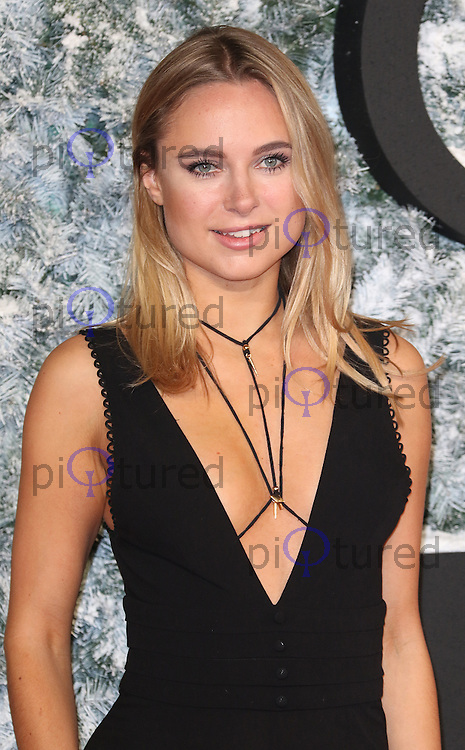 Kimberley Garner, Collateral Beauty - European film premiere, Leicester Square, London UK, 15 December 2016, Photo by Richard Goldschmidt