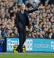 Arsene Wenger manager of Arsenal during the English Premier League match at the White Hart Lane Stadium, London. Picture date: April 30th, 2017.Pic credit should read: Robin Parker/Sportimage