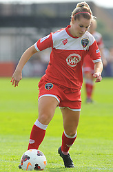 Bristol Academy Womens' Nicola Watts in action - Photo mandatory by-line: Nizaam Jones- Mobile: 07583 387221 - 28/09/2014 - SPORT - Women's Football - Bristol - SGS Wise Campus - BAWFC v Man City Ladies - sport