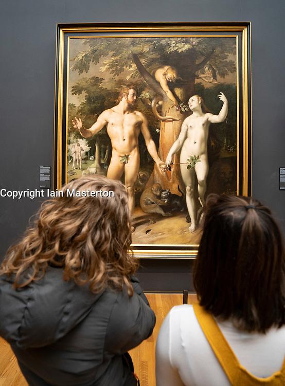 The Fall of Man, Cornelis Cornelisz. van Haarlem, 1592 - Rijksmuseum, Amsterdam, Netherlands