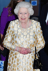 Members of The Royal Family attend The Queen's Birthday Party at the Royal Albert Hall, London, UK, on the 21st April 2018. Picture by John Stillwell/WPA-Pool. 21 Apr 2018 Pictured: Queen, Queen Elizabeth. Photo credit: MEGA TheMegaAgency.com +1 888 505 6342