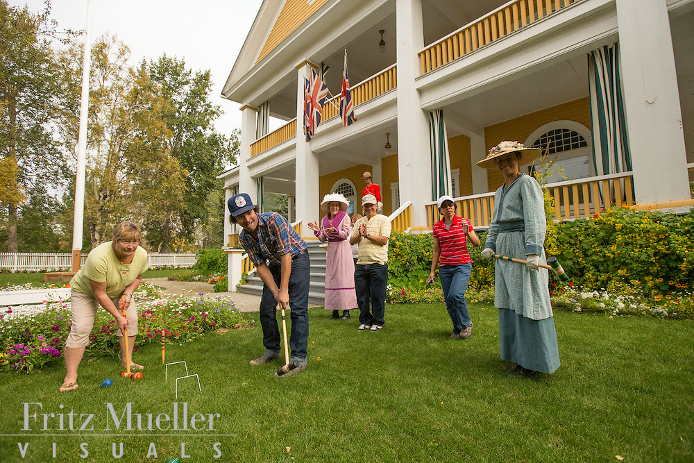Commissioner's Residence in Dawson City, Yukon
