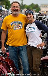 Cannonballers Andrea Labarbara and Bob Zeolla in the