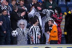 Fraserburgh's fans. <br /> Falkirk 4 v 1 Fraserburgh, Scottish Cup third round, played 28/11/2015 at The Falkirk Stadium.