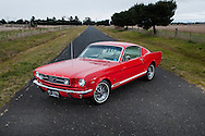 1965 Ford Mustang GT Fastback - Red.Donnybrook, Melbourne, Victoria.1st of July 2012.(C) Joel Strickland Photographics.Use information: This image is intended for Editorial use only (e.g. news or commentary, print or electronic). Any commercial or promotional use requires additional clearance.