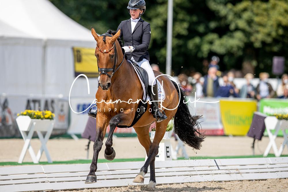 Reiser Yvonne, GER, Escalla OLD<br /> World Championship Young Horses Verden 2021<br /> © Hippo Foto - Dirk Caremans<br /> 25/08/2021