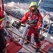 Leg 7 from Auckland to Itajai, day 05 on board MAPFRE. 21 March, 2018.