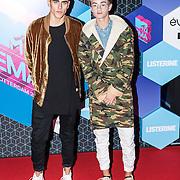NLD/Rotterdam/20161106 - MTV EMA's 2016, Jack Glinksky and Jack Johnson