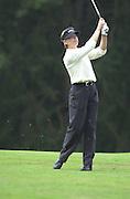 2001 Weetabix Women's British Open, Sunningdale Golf Course, Berks, Great Britain<br />  <br /> [Mandatory Credit Peter Spurrier/Intersport Images]<br /> <br /> Friday 3rd August 2001<br /> Weetabix Women's British Open<br /> <br /> Annika Sorenstam, approaching the 11th green.