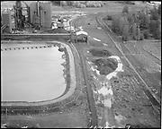 "Ackroyd 16965-09 Oregon Steel Mills. Aerials & ground photos. Rivergate. October 23, 1970."" ("