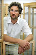 MUNCHEN, GERMANY - 30/07/2008 - SCIENCE, Prof. Dr. Bart KEMPENAERS at the Max Planck Institute for Ornithology..cfr.: Belgian topscientists.PHOTO©Christophe VANDER EECKEN