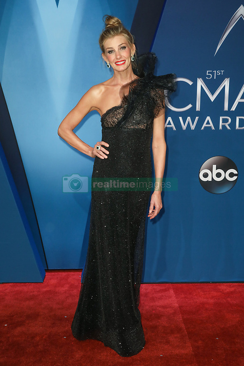 Thomas Rhett at the 51st Annual Country Music Association Awards hosted by Carrie Underwood and Brad Paisley and held at the Bridgestone Arena on November 8, 2017 in Nashville, TN. © Curtis Hilbun / AFF-USA.com. 08 Nov 2017 Pictured: Faith Hill. Photo credit: MEGA TheMegaAgency.com +1 888 505 6342