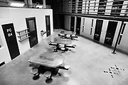 """Guantanamo Bay, Cuba,  June 2013. <br /> Suicide is forbidden in Guantánamo - including starving yourself to death. <br /> Therefore America's armed forces force-feed hunger-striking prisoners with tubes through the nose, in contravention of medical ethics guidelines.<br /> After more than eleven years' imprisonment, many of the 166 prisoners have stopped believing that they will leave the camp alive.<br /> This was the second visit to the naval base and the detention camps at Guantanamo by Ola Torkelsson. He first visited the base in January 2009 When Barack Obama was installed as President of the United States. Obama's first act as President was to sign Executive Order 13492 - """"Review and Disposition of Individuals Detained at the Guantanamo Bay Naval Base and Closure of Detention Facilities"""" with the ambition to close the prisons for good. Since then, prisoners have been transferred to third-party countries but the prisons are still up and running, holding 166 prisoners from 23 countries.<br /> During the spring and summer of 2013, a number of prisoners have gone on hunger strike. The hunger strikers are being force-fed with tubes through the nose, in contravention of medical ethnic guidelines.<br /> When Ola Torkelsson visited Guantanamo in July, the holy month of Ramadan had just begun so the force-feeding took place at night or early morning before the sun rose to respect the prisoner's religious beliefs.<br /> Photo by Ola Torkelsson<br /> Copyright Ola Torkelsson"""