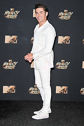 Zac Efron at the 2017 MTV Movie And TV Awards held at The Shrine Auditorium on May 7, 2017 in Los Angeles, California.<br /><br />(Photo by Sthanlee Mirador) *** Please Use Credit from Credit Field ***