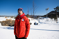 February 5, 2018 - Pyeongchang, SOUTH KOREA - 180205 Knut Nystad, chief ski wax technician, during a training session on February 5, 2018 in Pyeongchang..Photo: Jon Olav Nesvold / BILDBYRN / kod JE / 160136 (Credit Image: © Jon Olav Nesvold/Bildbyran via ZUMA Press)