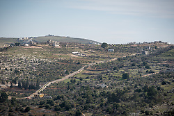 16 February 2020, Irbid, Jordan: View of Al-Mazar, an area known for its agriculture.