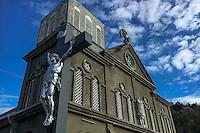 Anse La Raye, Saint Lucia: Church of the Nativity of the Blessed Virgin Mary.
