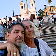The Piazza di Spagna is where Rome's famed Spanish Steps draw hordes of tourists to admire the widest stairway in Europe.