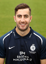 Middlesex's Stephen Eskinazi during the media day at Lord's Cricket Ground, London.