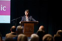 Shannon Wayne, (GBR)<br /> Panel discussion<br /> Global Dressage Forum<br /> Academy Bartels - Hooge Mierden 2015<br /> © Hippo Foto - Dirk Caremans<br /> 26/10/15