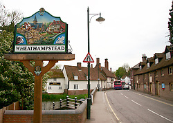 © under license to London News Pictures.  .15/04/2011 Rumours are circulating around a village in Hertfordshire that David and Victoria Beckham are to become residents. There is speculation that the celebrity couple are interested in buying the Lamerwood Golf Course in Wheathampstead, which has planning permission for development. The couple, who are expecting a daughter in the summer, are relocating to England when former Manchester United footballer David's contract with LA Galaxy expires at the end of the year..Photo credit should read Craig Shepheard / LNP