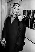 Debbie Harry at London photo exhibition 1978