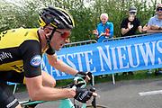 LottoNL-Jumbo rider Jos van Emden (Ned) on the Côte de la Redoute climb during the 2018 Liège-Bastogne-Liège elite men's race on Sunday 22 April 2018.